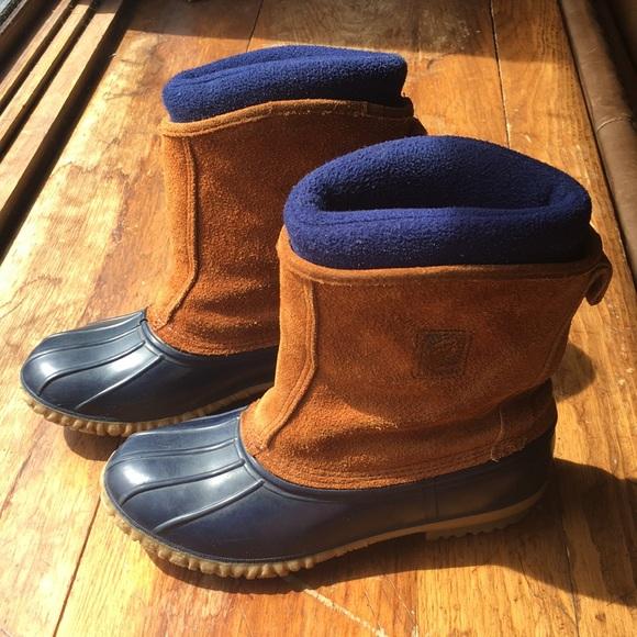 Vintage Lacrosse Duck Boots Womens